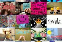 Smile / I love when people are smiling. So, let's smile.