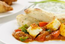Chili Paneer / For dinner tonight, why not try a toothsome Chili Paneer with soft as velvet Rotis