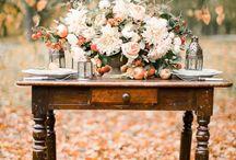 Fall wedding styled shoot