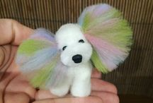 My works needle felting