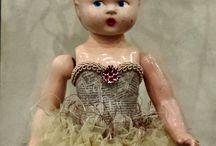Антикварные куклы, образы