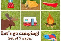 Camping Quilt Inspiration
