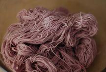 DIY hand dyed yarn