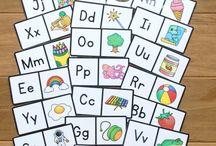 dominoes alphabet