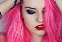 pink hot hair
