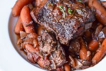 Recipes to Try-Beefy, Porky, Meaty / by Kathy Wallace