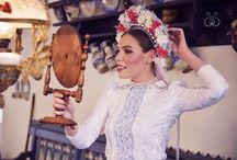 Traditional Slovak Folk Headdress