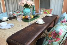 DIY outdoor furniture and decor makeover
