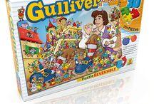 Puzzles 204 piezas / Rompecabezas 204 piezas