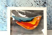 Obrazy ceramiczne / Galeria moich ceramicznych obrazów