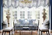Blue/white home