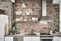 Kitchen background wall