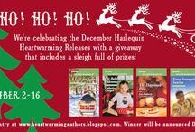 Dec 2017 Harlequin Heartwarming Authors Ho! Ho! Ho! It's a sleigh full of prizes GIVEAWAY!
