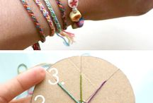 Braided Bracelets / by Deanna McAlister Hosea