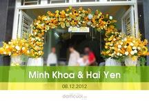 Happy wedding Minh Khoa & Hải Yến (08.12.2012)
