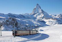 Zermatt / Beguiling atmosphere, sensational scenery, skiing for all levels – a world-class mountain resort. http://www.secretearth.com/destinations/659-zermatt