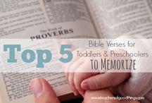 Memorising Scripture
