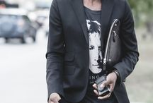 Streetwear chic / Streetwear + minimalis (alfaiataria).