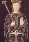 Frédégonde (545 +597) Concubine puis épouse (568) de Chilpéric 1° / Enfants: CLOTAIRE (né en 584), SAMSON (575 + av.580). DAGOBERT (580-580) CHLODEBERT (655/70 -580) THIERRY (582-584).