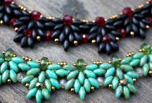 šité šperky / korálkování