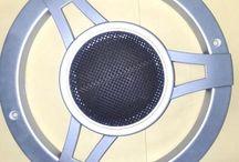 Grill Speaker 6 Inchi Mercy Silver