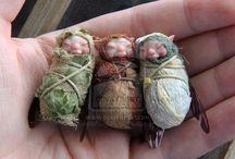 mini dolls (benny dolls, fairies...)