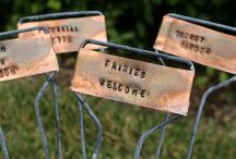 Backyards & Gardens / Jazz up your ordinary back yard with cool DIY weekend projects! / by Carrie Walker Roberts