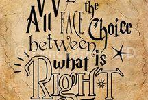 Harry Potter / Lievelingsfoto's, quotes en alles over HP