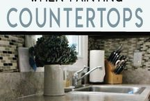 Countertop painting tips