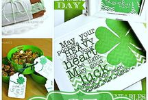 Happy St Patrick's Day! / A little bit of Green and Luck to sprinkle around for March! Happy St Patrick's Day