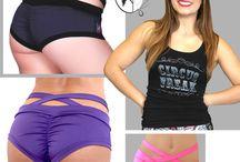 shorts for polefitness