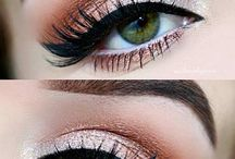 Beautiful eye make up
