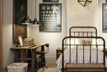 Damians slaapkamer