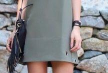 Outfit con vestido