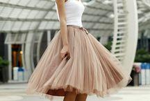 Costura: Faldas de tul / Tull skirts / Ideas & patterns how to make a tull skirt
