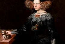 Queen Luisa Maria of Portugal / Luisa Maria Francisca de Guzmán y Sandoval (13 October 1613 - 27 February 1666) was a queen consort of Portugal. She was the wife of King John IV of Portugal. She was the daughter of Juan Manuel de Guzmán y Silva, 8th Duke of Medina Sidonia and Juana de Sandoval y la Cerda. Queen Luisa Maria and John IV had 5 children. Teodósio, Prince of Brazil, Joana, Princess of Beira, Catarina , Queen of England, Afonso VI and Pedro II.