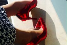 LisaW by ParVous - limited editions / Beautiful metallic red and silver limited edition heels.  www.parvous.com