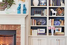 Efi's ATHENS HOME - Bookcase and Library