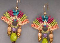 bijoux crochet / des bijoux avec la technique du macramé ou au crochet
