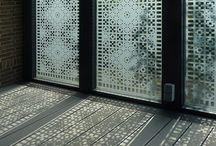 Schutspatronen / Opengewerkte glas- of raamfolie