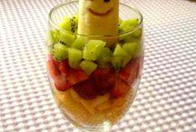 Postrees con Frutass