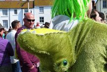 jack in the green  hastings east sussex 2014 / may day celebrations in the old town.