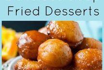 Deep fried desserts