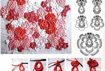Crochet: Irish lace / motifs
