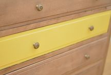 Commode Archives / Force jaune