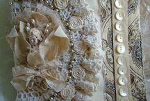 hačkované dekorácie