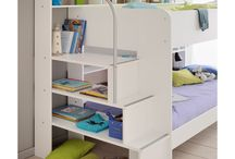 Beds with Storage / Children's beds with storage facility built inside, cabin and highsleeper beds with cupboards, drawers, wardrobes, shelves, cube units and more.
