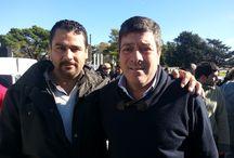 Marcelo Isidro Rodriguez con buena gente de la política / ViviendMarcelo Isidro Rodriguez con buena gente de la políticaas sociales