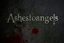 Ashestoangels / New Grave Goths. These guys make my day and the more recognition they get for their awesomeness the better. None of these pictures were taken by me, but all of their original sources can be found on Facebook.