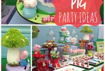 Festa Peppa Pig | Party - Peppa Pig theme / by Dk Pottier